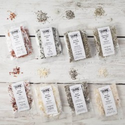 Salt Pigs Flavoured Sea Salts Collection with 7 Flavoured Salts